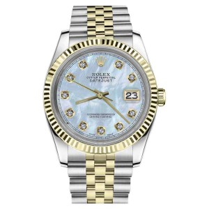 Rolex Datejust Stainless Steel/ 18K Gold 26mm Womens Watch