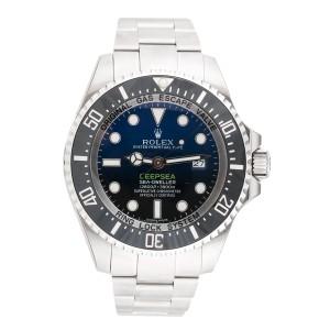 Rolex 116660DBL Sea Dweller DeepSea Stainless Steel Blue Black Dial Automatic 44mm Mens Watch