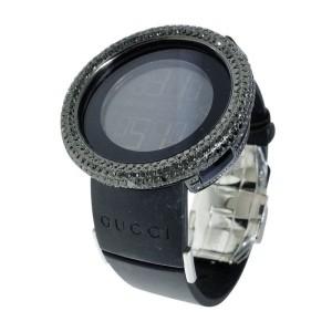 Gucci YA114401 Digital White 9 Ct  Diamond Watch