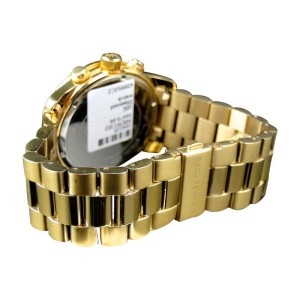 Micheal Kors Gold 45mm Stainless Steel with Custom Set Diamonds Watch
