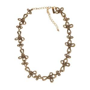 Oscar de la Renta Gold Plated Woven Rope Necklace or Belt