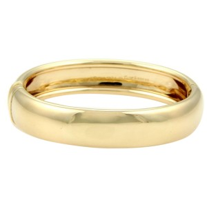 Cartier 18K Yellow Gold Nouvelle Vague Dome Bracelet