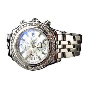 Breitling Evolution A13356 White 6 Ct Diamond 45 mm Mens Windrider Watch