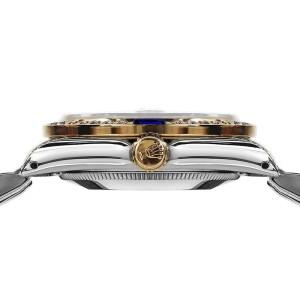 Rolex Datejust 2Tone 18K/Stainless Steel White Jubilee Sapphire & Diamond Womens 26mm Watch