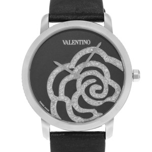 Valentino Rose Black V41SBQ-9999-SS009 Stainless Steel Quartz 36mm Womens Watch
