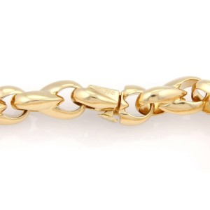 Cartier 18K Yellow Gold Fancy Link Bracelet
