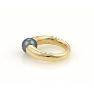 Cartier 18k Yellow Gold Tahitian Pearl Ring