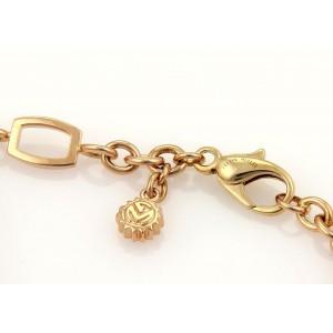 Franck Muller 18K Rose Gold Talisman Geometric Chain Link Bracelet