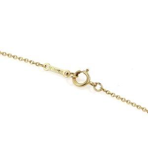 Tiffany & Co. Peretti 18K Yellow Gold Bean Pendant & Chain Necklace