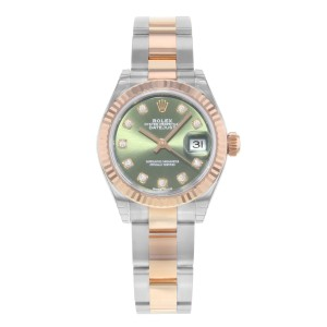 Rolex Datejust 279171 ogdo 18K Rose Gold & Stainless Steel Automatic 28mm Womens Watch