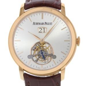 Audemars Piguet Jules Audemars Tourbillon 26559OR.OO.D088CR.01 Pink Gold 41mm Mens Watch