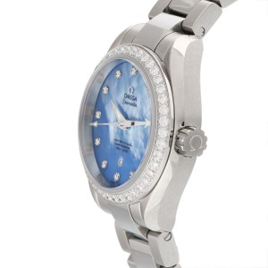 Omega Seamaster Aqua Terra 23115342057002 Stainless Steel Automatic 34mm Womens Watch