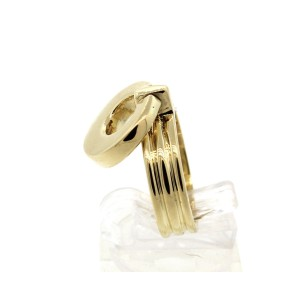 Tiffany & Co. Vintage 18k Solid Yellow Gold Swivel Top Ring