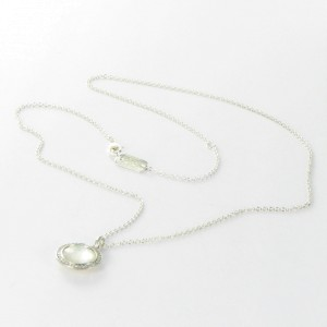 Ippolita 925 Sterling Silver Stella Lollipop 0.12cts Diamonds Mother of Pearl Necklace