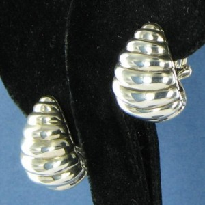 John Hardy Sterling Silver Bedeg Buddha Belly Earrings