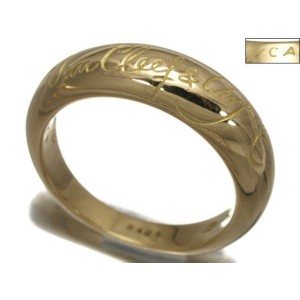 Van Cleef & Arpels 750 Yellow Gold Ring Size 5