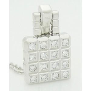 Chopard 18K White Gold Diamond Necklace