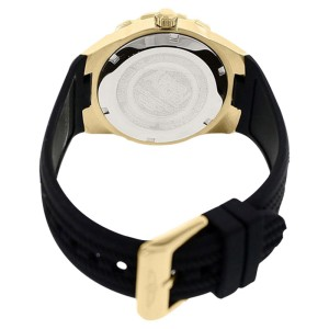 Invicta 17486 Angel Black Dial Polyurethane Strap Womens Watch