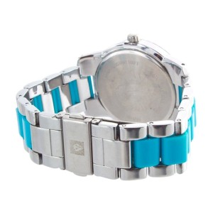 Anne Klein AK/1195 Two-Tone Stainless Steel & Plastic 40mm Watch
