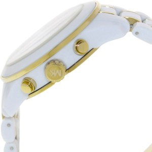 Michael Kors MK5804 Preston White Dial White Acetate Chronograph 43mm  Watch