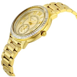 Michael Kors MK6287 Champagne Dial Gold Tone Stainless 40mm Womens Watch