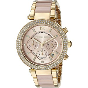 Michael Kors MK6326 Two Tone Stainless Steel Quartz 39mm Womens Watch