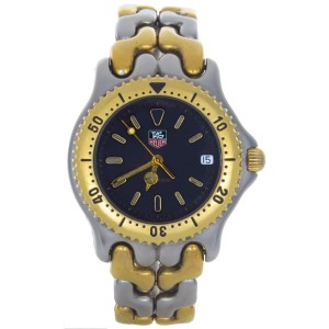 Tag Heuer WG1320-2 Professional 200M Two-Tone Grey Dial Quartz Watch