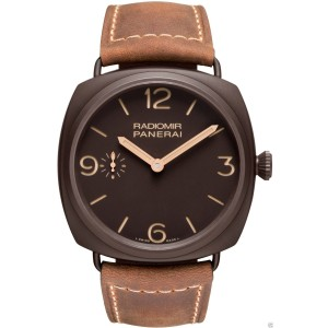 Panerai Radiomir Composite Brown Dial PAM00504 PAM 504 47mm Watch