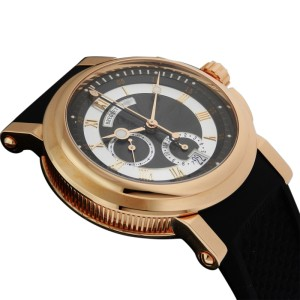 Breguet 5827br Marine Chronograph 18K Rose Gold 42mm Watch