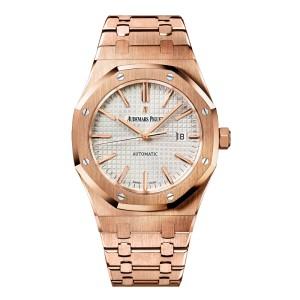 Audemars Piguet Royal Oak 15400OR.OO.1220OR.02 Rose Gold Watch