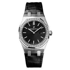 Audemars Piguet Royal Oak Quartz 67651ST.ZZ.D002CR.01 Diamond Watch