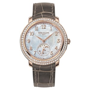 Patek Philippe Complications 4968R-001 33.3mm Moon Phase Rose Gold Watch