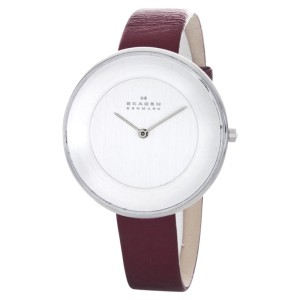 Skagen SKW2273 Gitte Metallic Red Strap Women's Watch