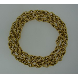 Tiffany & Co. 18K Yellow Gold Chain Necklace