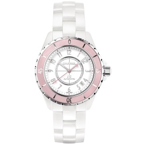 Chanel J12 h4468 White Ceramic Automatic 38mm Womens Watch
