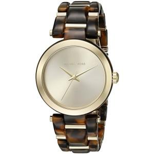Michael Kors MK4314 Gold Tone Stainless Steel Quartz 36mm Womens Watch