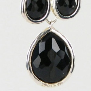 Ippolita Rock Candy 925 Sterling Silver with Onyx Earrings