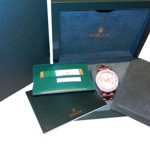 Rolex Sky Dweller 326935 Oyster Perpetual 42mm Rose Gold Watch