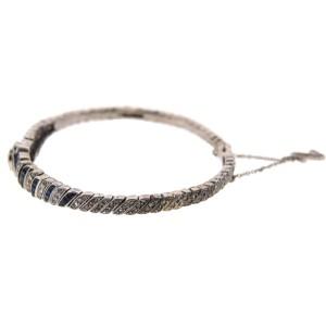 Art Deco Platinum Diamond & Sapphire Bracelet