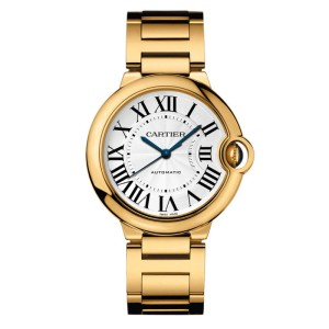 Cartier Ballon Bleu W69003z2 18K Yellow Gold Watch