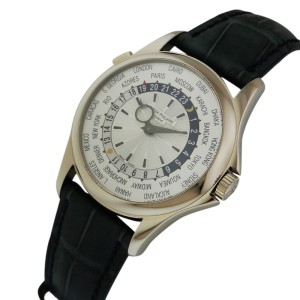 Patek Philippe Complications World Time 5130g-010 18K White Gold Watch