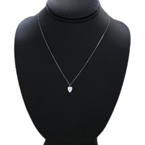 Gucci 750 White Gold Pendant Necklace