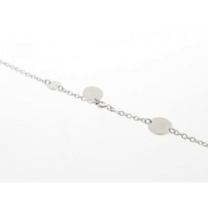 Hermes 18K Pink Gold & 925 Sterling Silver Confettis Selye Necklace