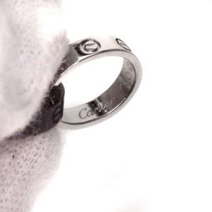 Cartier 18K White Gold and Ceramic Love Bracelet