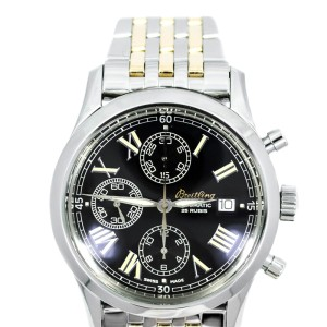 Breitling Navitimer Grand Premier A130241 Chrono Two-Tone 40mm Watch