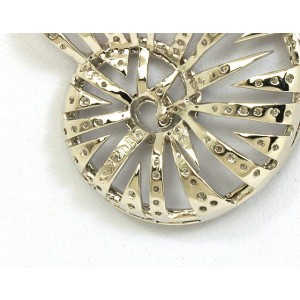 Elini 18K Gold &  Diamonds Snail Pendant/Chain