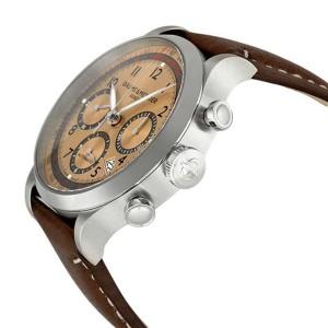 Baume & Mercier M0A10004 Capeland Chrono Rose Gold-Tone Dial Mens Watch