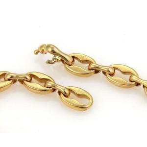 Cartier 18K Yellow Gold Fancy Oval Link Bracelet