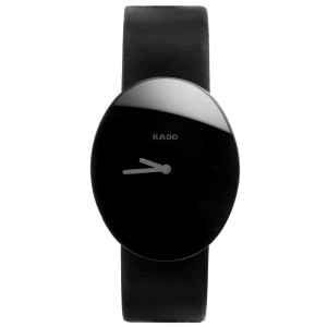 Rado Esenza 9640493 Black Leather Quartz Womens Watch