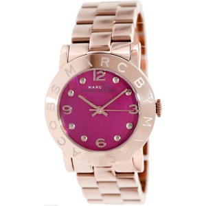 Marc by Marc Jacobs Amy MBM8625 Rose Gold-Tone Stainless Steel 36mm Watch